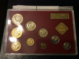 Russia/USSR 1977,Proof-Like Mint Set,VF-XF UNC LMD Leningrad Mint !! See Pics !! - Russia
