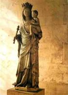 Art - Art Religieux - Abbaye N D Du Bec Hellouin - Notre Dame Du Bec - Voir Scans Recto-Verso - Tableaux, Vitraux Et Statues