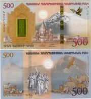 ARMENIA       500 Dram        Comm.      P-New       2017       UNC - Arménie