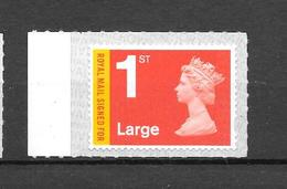GB New Special Definitives - 04/12 -  LARGE - Recorded Signed For  Plain Stamp - 1952-.... (Elizabeth II)
