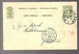 1903 BISSEN!! > Ettelbrück (260) - Entiers Postaux