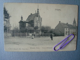 EDEGEM : Place D'EDEGEM. En 1918 - Edegem
