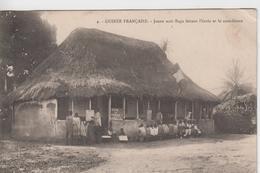 GUINEE FRANCAISE - Jeune Noir Raga Faisant L'école Et Le Catéchisme  ( - Timbre à Date De 1914 ) - Guinée