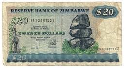 Zimbabwe 20 Dollars 1994 - Zimbabwe