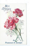 Jamoigne Pensionnat Mes Amitiés ( Eudes Illustrateur ) - Chiny