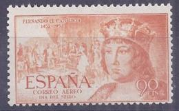 Spain 1952. Fernando 90 Cts S/fij. Ed 1112 (**) - 1931-Today: 2nd Rep - ... Juan Carlos I