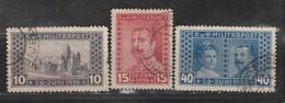 Bosnie-Herzegovine  1917  N° 117 / 19  Oblitéré. Série Compléte - Bosnie-Herzegovine