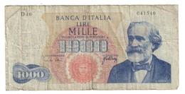 Italy 1000 Lire 20/05/1965 - [ 2] 1946-… : République