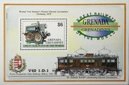Grenada Grenadines 1992 Railways Of The World S/S - Grenada (1974-...)