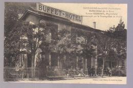 Cpa Du 04- Saint André Les Alpes- Buffet & Hôtel De La Gare Propriétaire Louis GIBERT - Francia