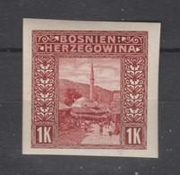 Bosnie-Herzegovine  1906  N° 42  Neuf X Non Dentelé - Bosnie-Herzegovine