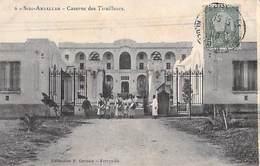 Tunisie -SIDI ABDALLAH   SIDI-ABDALLAH Le Caserne Des Tirailleurs (Militaria)( P.Gervais Ferryville  N°6) *PRIX FIXE - Túnez
