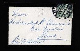 A5734) Niederlande Netherlands Kleiner Trauerbrief 9.3.12 N. Jever - 1891-1948 (Wilhelmine)