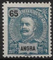 Angra – 1898 King Carlos 65 Réis - Angra