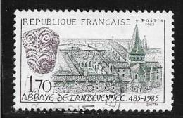 N° 2349  FRANCE  - OBITERE  -  ABBAYE DE LANDEVENNEC  -  1985 - Oblitérés