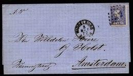 A5735) Niederlande Netherlands Brief Middelburg 3.3.72 N. Amsterdam - 1852-1890 (Wilhelm III.)