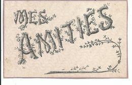 Mes Amitiés - Cartes Postales