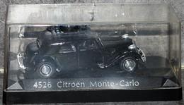 CITROEN TRACTION Monte-Carlo - 1952 - Rallye