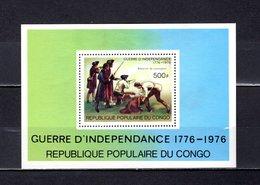 República Del Congo  1976 .  Y&T  Nº   10   Block     *   ( C/ Charniere ) - Congo - Brazzaville