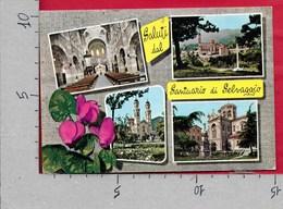 CARTOLINA VG ITALIA - Saluti Dal Santuario Di SELVAGGIO DI GIAVENO (TO) - Vedutine Multivue - 10 X 15 - ANN. 1978 - Saluti Da.../ Gruss Aus...