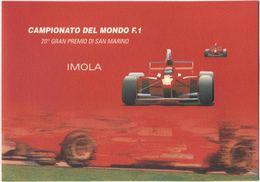 2000 Italia, Folder Campionato Mondiale Formula 1 Imola Ferrari 20 G.P. San Marino, Al Prezzo Di Copertina - 1946-.. République