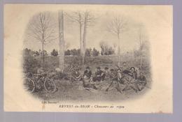 Carte Photo Du 04-REVEST DU BION - Chasseurs Au Repos - Francia