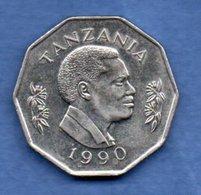 Tanzanie -  5 Shilingi 1990 -  Km # 20a1-   état   SUP - Tanzanie