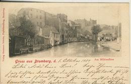 Gruss Aus Bromberg V.1904 Am Mühlenfliess  (50602 ) - Schlesien