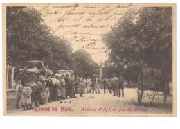 Carte Photo Du 04-REVEST DU BION - Jeu De Boules Avenue De Apt - Francia