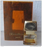 ACHAT IMMEDIAT     Miniature  Ancienne   REVILLON 4 Avec Sa Boite - Miniature Bottles (in Box)