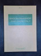 Musica Spartiti - Hawkes Pocket Scores No. 18 - Rachmaninoff - Piano Concerto 3 - Vecchi Documenti
