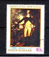 Romania - 1976. Ritratto Di G. Washingtoncon Il Suo Cavallo. Portrait Of G. Washington With His Horse. - George Washington