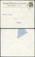 A138 Lettre De Noirhat Ottignies à Genappe 1930 - 1922-1927 Houyoux