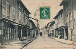 H212 - 01 - CHATILLON-SUR-CHALARONNE - Ain - Grand Faubourg - Châtillon-sur-Chalaronne