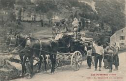 H213 - 09 - Ariège - La Mendicité Sur La Route - Autres Communes