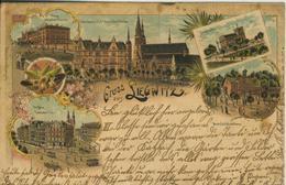 Liegnitz V.1897 Grenadier Kaserne,Friedrichsplatz,Siegeshöhe,Breslauer Platz,Gasthof  (50604 ) - Schlesien