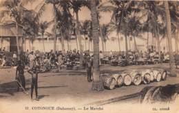 Dahomey - Cotonou / 62 - Le Marché - Dahomey