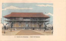 Dahomey - Cotonou / 67 - La Gare - Dahomey
