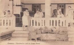 Dahomey - Cotonou / 70 - Terrasse Du Café Du Grand Hôtel - Dahomey