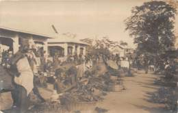 Dahomey - Porto Novo / 74 - Carte Photo - Marché - Dahomey