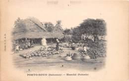 Dahomey - Porto Novo / 78 - Marché - Poterie - Dahomey