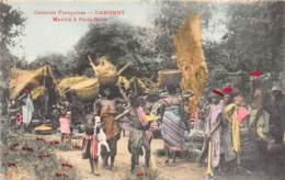 Dahomey - Porto Novo / 81 - Le Marché - Beau Cliché - Dahomey
