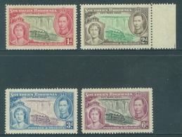 SOUTHERN RHODESIA  - MNH/**. - 1937 - CORONATION - Yv 36-39 -  Lot 18422 - Rhodésie Du Sud (...-1964)