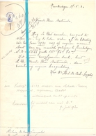 Brief Lettre - Hilaire De Cock - Langelet - Gemeente Erembogem - Naar Kadaster 1930 + Brief Met Antwoord - Vieux Papiers