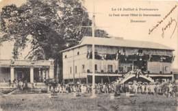 Dahomey - Porto Novo / 87 - La Foule Devant L'hôtel Du Gouvernement - Dahomey