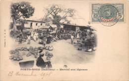Dahomey - Porto Novo / 91 - Marché Aux Légumes - Belle Oblitération - Dahomey