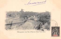 Dahomey - Porto Novo / 92 - Débarquement Des Fûts D'huile De Palme - Belle Oblitération - Dahomey
