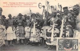 Dahomey - Topo / 96 - Groupe De Féticheurs - Belle Oblitération - Dahomey