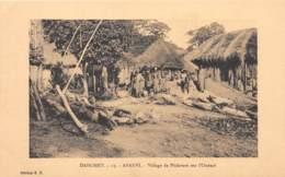 Dahomey - Topo / 104 - Afanvi - Village Des Pêcheurs Sur L' Ouémé - Dahomey