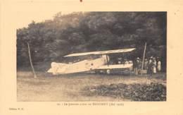 Dahomey - Topo / 106 - Le Premier Avion - Beau Cliché - Dahomey